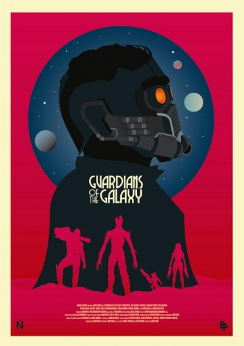 Posters fan made de guardianes de la galaxia criticsight 2
