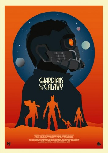 Posters fan made de guardianes de la galaxia criticsight 3
