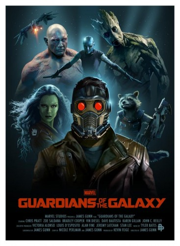 Posters fan made de guardianes de la galaxia criticsight 5