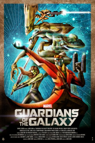 Posters fan made de guardianes de la galaxia criticsight 7