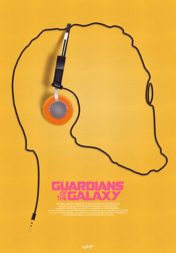 Posters fan made de guardianes de la galaxia criticsight 8