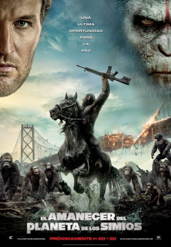 dawn of the planet of the apes el amanecer del planeta de los simios poster criticsight latino