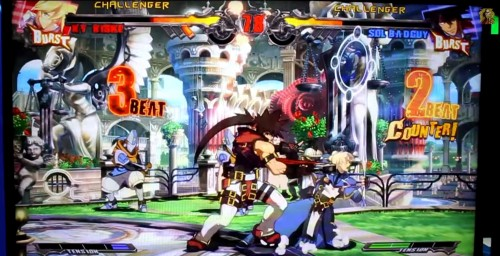 guilty gear xrd  ps4 gameplay 60 cuadros criticsight