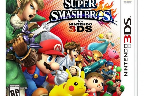 super smash bros portada front 3DS 2014 criticsight