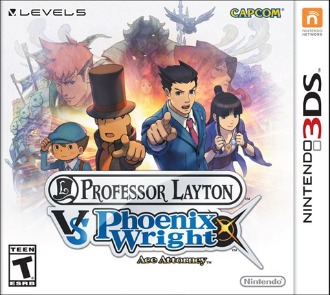 10 Professor Layton vs. Phoenix Wright Ace Attorney  critcisight