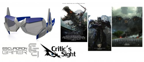 Dinamica Escuadron Gamer Criticsight Transformers Age of Extinction imagen banner 1