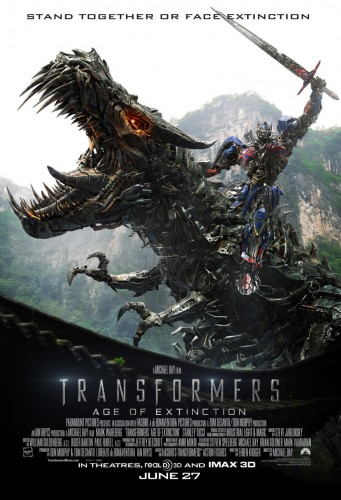 Dinamica Escuadron Gamer Criticsight Transformers Age of Extinction imagen poster 1