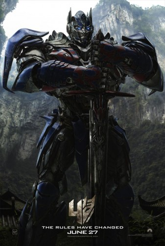 Dinamica Escuadron Gamer Criticsight Transformers Age of Extinction imagen poster 2