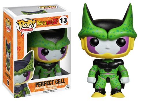 "GAME TOYS Figuras Funko Pop Vinyl de ""Daron Ball Z"" criticsight imagen perfect cell perfecto"