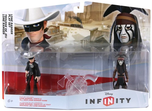 Play Set Lone Ranger empaque criticsight