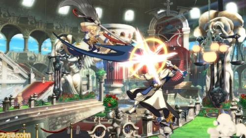 Primeras Imágenes In-Game de Sin Kiske en Guilty Gear Xrd de PS3 y PS4 criticsight 1