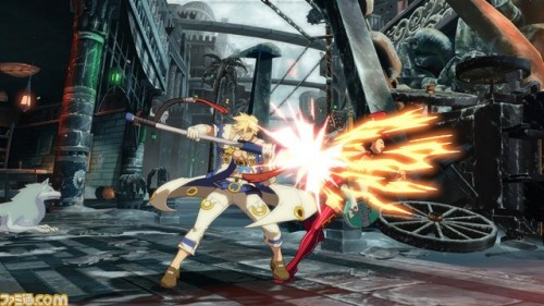 Primeras Imágenes In-Game de Sin Kiske en Guilty Gear Xrd de PS3 y PS4 criticsight 2
