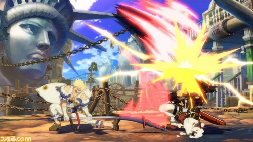 Primeras Imágenes In-Game de Sin Kiske en Guilty Gear Xrd de PS3 y PS4 criticsight 3