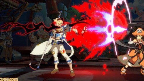 Primeras Imágenes In-Game de Sin Kiske en Guilty Gear Xrd de PS3 y PS4 criticsight 4