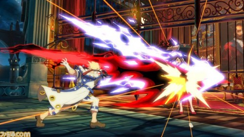 Primeras Imágenes In-Game de Sin Kiske en Guilty Gear Xrd de PS3 y PS4 criticsight 5