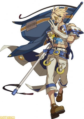 Primeras Imágenes In-Game de Sin Kiske en Guilty Gear Xrd de PS3 y PS4 criticsight  arte art ilustracion ilustration