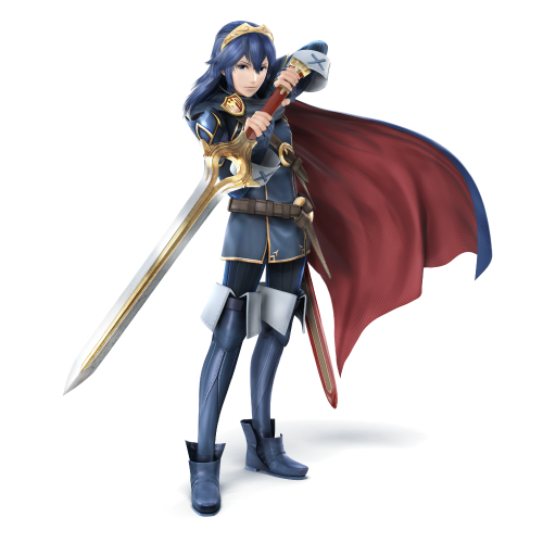 Super smash bros wii u 3ds criticsight imagen lucina arte