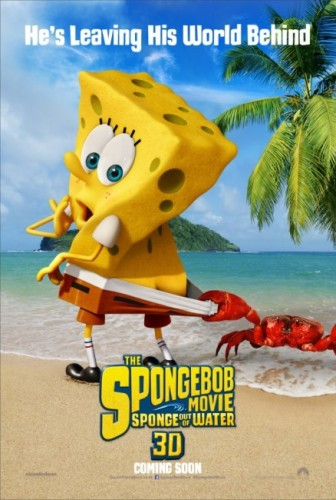 The Spongebob Squarepants Movie Sponge Out of Water criticsight poster teaser