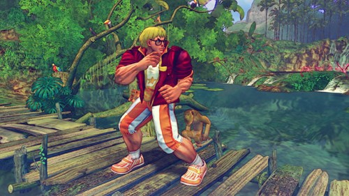 Ultra street fighter iv dlc summer vacation outfits trajes alternos 2014 criticsight 15