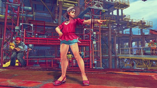 Ultra street fighter iv dlc summer vacation outfits trajes alternos 2014 criticsight 7