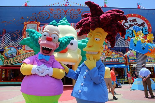 krusty y bob patiño simpsons criticsight