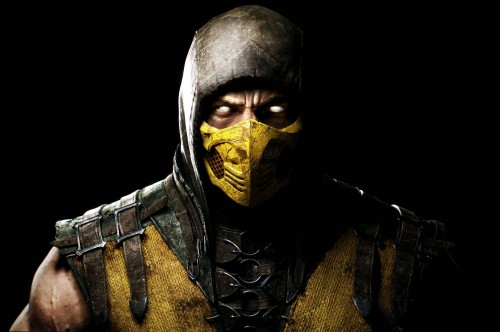 mortal kombat x scorpion wall bigger criticsight