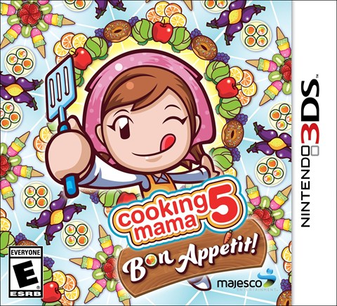 6 Cooking Mama 5 Bon Appetit! Solo 3DS criticsight