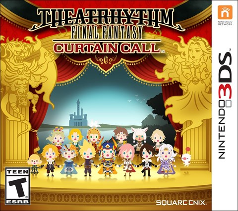 7 Theatrhythm Final Fantasy Curtain Call  solo 3DS  criticsight