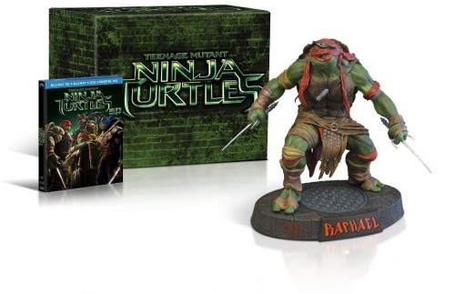 Teenage Mutant Ninja Turtles Raphael Gift Set Blu-Ray criticsight