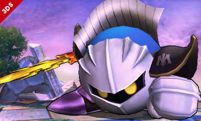 meta knight  super smash bros criticsight