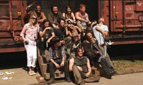 the walking dead quinta temporada elenco cast spoiler daryl  criticsight