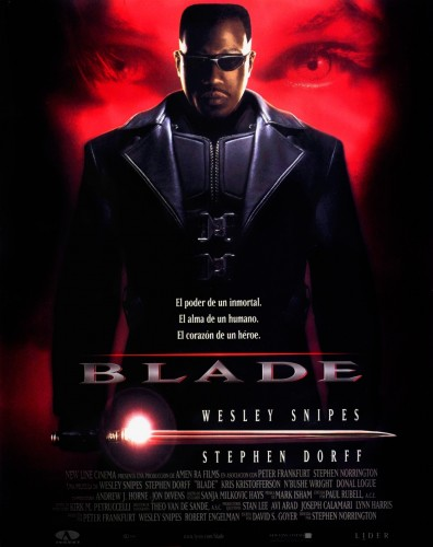 """Blade""  Dirigida por ""Stephen Norrington"" y producida por New Line Cinema 1998 criticsight"