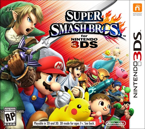 1 Super Smash Bros Disponible Próximamente también en WII U  criticsight