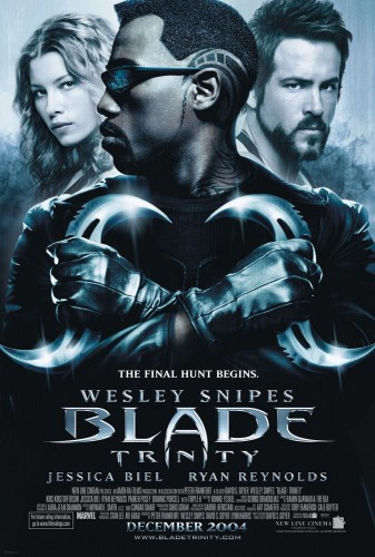 10 Blade Trinity Dirigida por David S. Goyer y Producida por New Line Cinema 2004 criticsight
