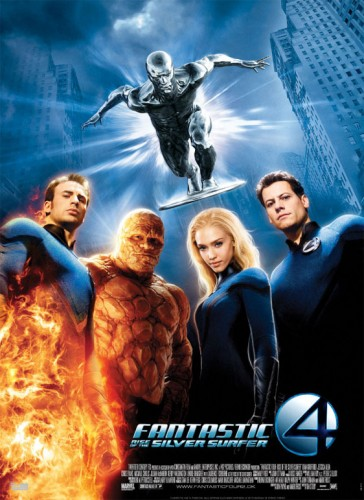 16 Fantastic Four Rise of the Silver Surer Dirigida por Tim Story y producida por 20th Century Fox 2007 criticsight