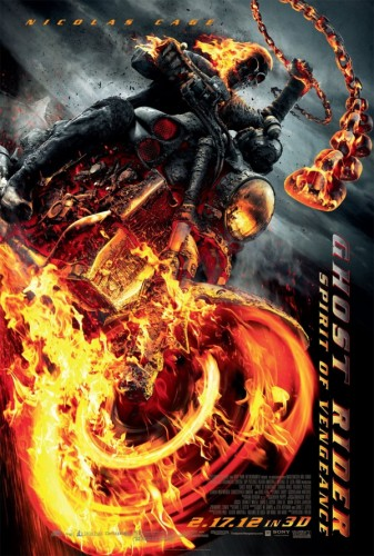 21 Ghost Rider Spirit of Vengeance Dirigida por Mark Neveldine y Brian Taylor producida por Sony Pictures 2012 criticsight