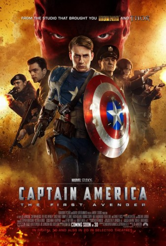 "32 ""Captain America The First Avenger"" Dirigida por Joe Johnston distribuida por Paramount Pictures 2011 criticsight"