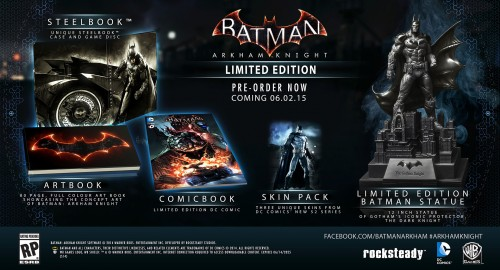 Estas son las Ediciones de Colección de Batman Arkham Knight limited edition criticsight