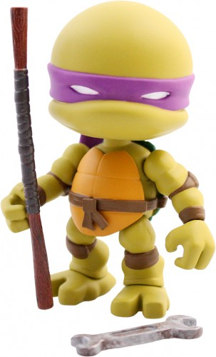 GAME TOYS Nuevas Figuras Action Vinyl Series 1 por The Loyal Subjects criticsight imagen 1 donatello