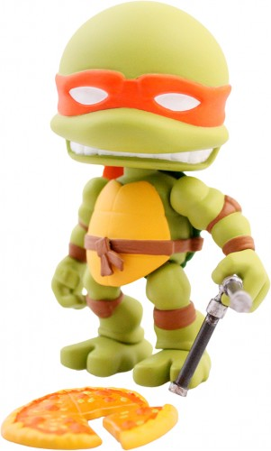 GAME TOYS Nuevas Figuras Action Vinyl Series 1 por The Loyal Subjects criticsight imagen 3 miguel angel mikey