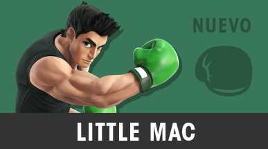 Guía de Colores de Super Smash Bros de 3DS criticsight imagen little mac 2