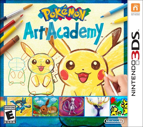 Pokemon Art Academy  solo en 3DS  criticsight