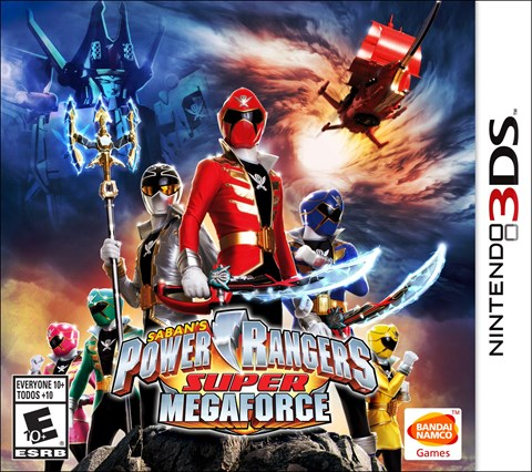 Power Rangers Super MegaForce solo en 3DS  criticsight
