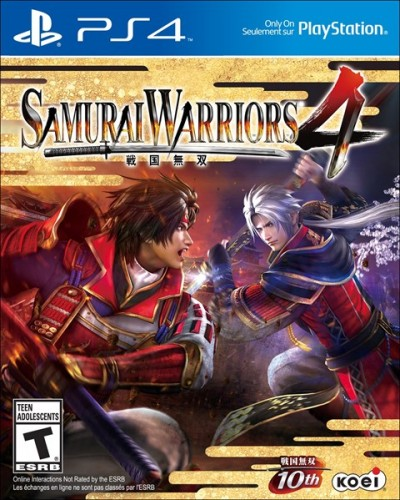 Samurai Warrios 4 solo en PS4 criticsight