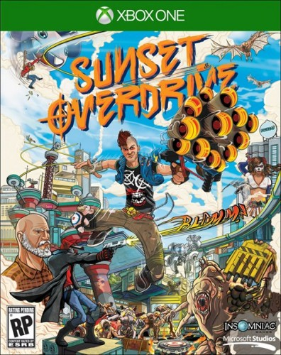 Sunset Overdrive 28 de Octubre disponible solo en XBOX One criticsight