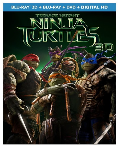 Teenage Mutant Ninja Turtles y sus Extras en Blu-ray portada criticsight