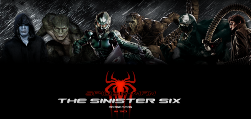 The Sinister Six Dirigida por Drew Goddard y producida por Sony Pictures fan wall 2016 criticsight