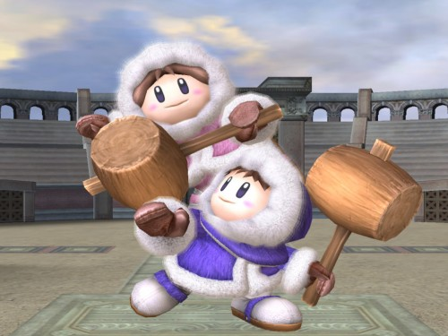 ice climbers no en super smash de 3ds