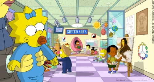 maggie no es hija de homero en los simpsons 2014 criticsight