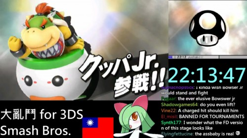 super smash bros 3ds bowser jr criticsight imagen 1
